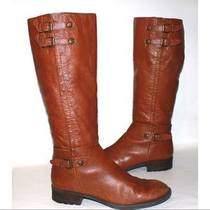 Franco Sarto Shoes - Franco Sarto 'Pacer' Tall Brown Leather Boots